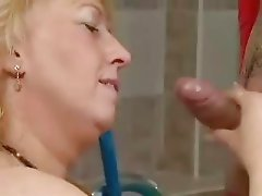 Granny Fucked by stud