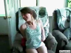 Hot amateur girl nice upskirt video done on webcam