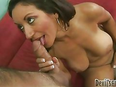 Ht whore Persia Monir takes a juicy dick in her mouth the way she wanted it