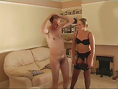 Milf Shows Microcock Guy She Is Boss