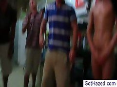 College dudes getting gay hazed part4