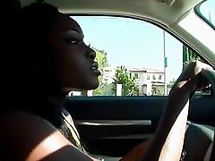 Pretty ebony driver Osa Lovely fucking hard