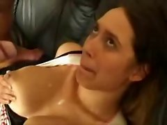 tits bouncing away while pussy is pounded