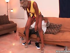 Black pussy Miss Simone loves that amazing huge black beaver inside