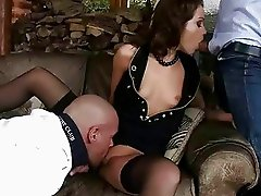 Sophie Lynx getting double fucked