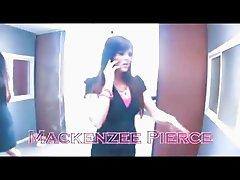 Mackenzee Pierce fucking in threesome