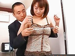 Japanese Av Model Flaunting Big Boobs
