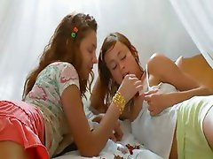 Insane danish lesbo pussy eating