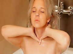 Shaving of beautiful 18yo fairhair pussy