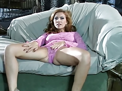 Hot lesbian foot and pussy licking action
