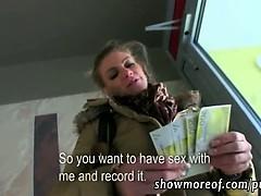 Massive boobs Adele pounded for money