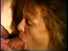 Two guys take sexy lady out for a late night romp