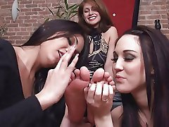 Lesbian Feet Worship 4