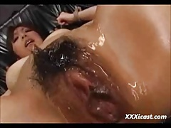Screaming Asian Teen Made To Orgasm