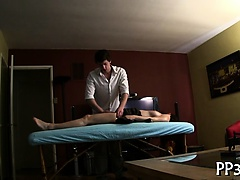 Oral-stimulation with wild fucking session