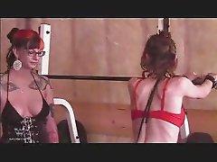 Lesbian BDSM Workout