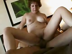 Granny Loves Cock And Spunk !