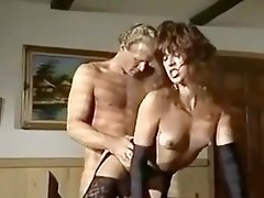 Renee Morgan in black