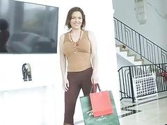 Horny MILF gets to fuck her stepson one last time