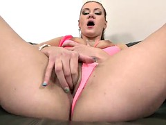 busty pornstar need to prepare her anal for a big cock
