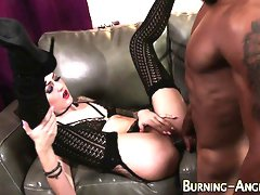 Emo babe fucked by bbc