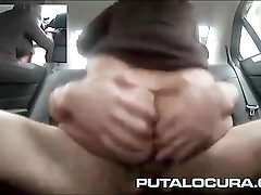 Big tits milf fucked passionately in his car
