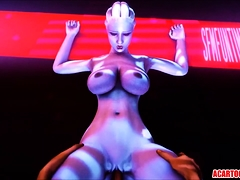 Big boobs 3D babes fucked in compilation