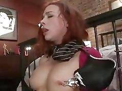 Bondage whore Chanel Preston loves it hard and rough BDSM