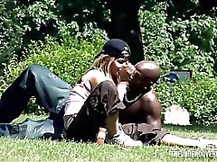 Milf picked up by a black guy for some fun
