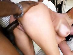 Busty milf in Black Robbers Fantasy Threesome