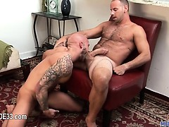 Cock jerking and butt pumping