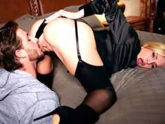 Stunning angel with big melons Rachael Cavalli cheats in the bedroom