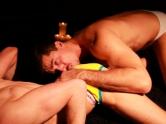 Enormous oral-sex before anal
