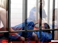 Prison babes Zoey and Morgan in a hot lesbian sex visit sweetheartvideo.me