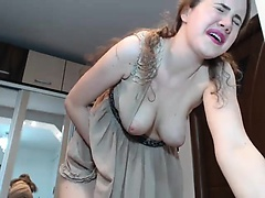 girl angelsdaniel flashing boobs on live webcam