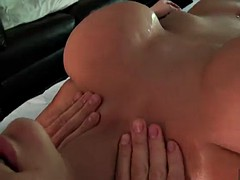 rough sex after a hot oil massage for alanah rae