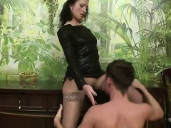 Rimjob for the mistress