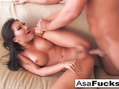 Japanese brown-haired, Asa Akira is constantly humping her neighbor, while his wifey is at work