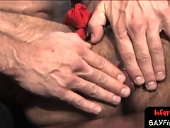 Randy gay stud getting ass fisted