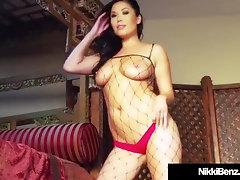Penthouse Pet Nikki Benz Fake Penis Fucks Chinese London Keyes!