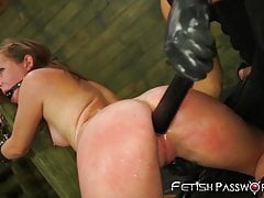 Teenage babe Charli Acacia pussy destroyed by Bruno Dickemz