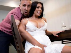 Rachel Starr is reuniting with her old coworker, Keiran, and her husband is not happy about it.