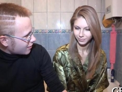 Angelic Russian teen given away for money