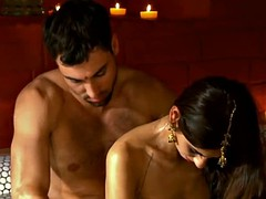 Exotic way of tantric sex
