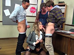 jessica drake loves her time surrounded by big cocks