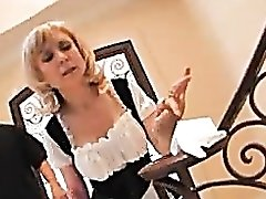 Milf French maid Nina Hartley fucked hard