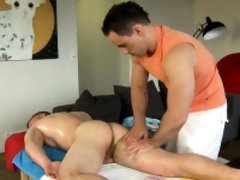 Captivating playgirl is delighting stud with deep massage
