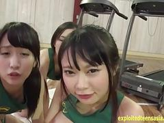 Jav Idols Fuck In The Gym Ride One Lucky Guy