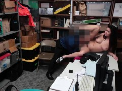 Hot blonde cop threesome Apparel Theft