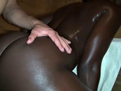 african amazon assfucked in hot sauna